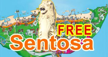 Free Places in Sentosa