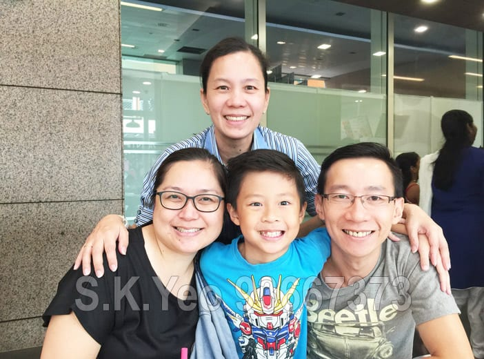 Patrick and Faith ( HDB Property Sellers ) with S.K.Yeo and Jacqueline
