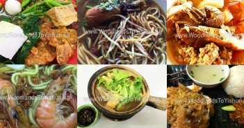 Eat All the way from Woodlands to Sembawang to Yishun