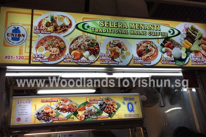 Selera Menanti Traditional Malay Cuisine Stall