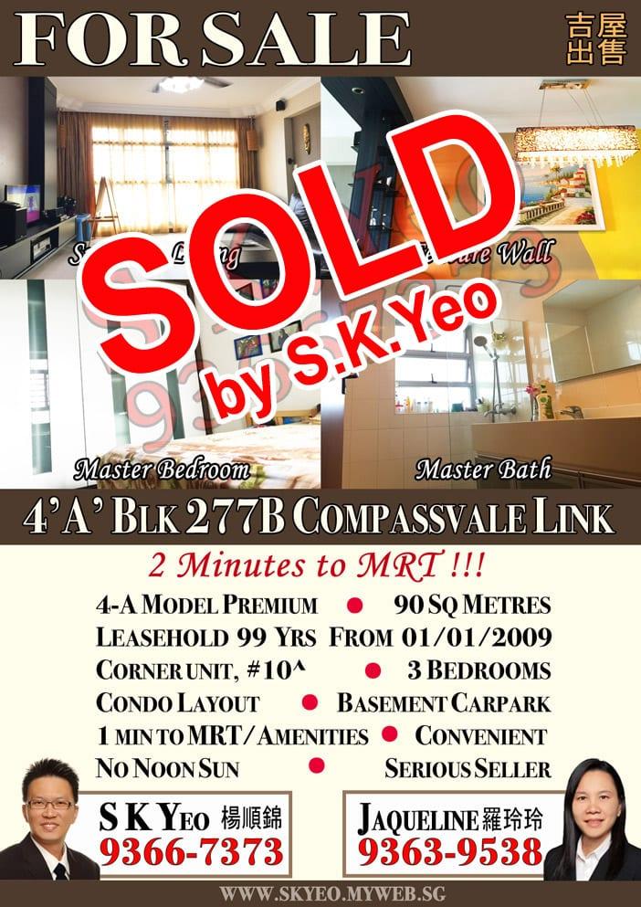 SengKang-277B-Compassvale LINK-4A-HH-Listing-SOLD