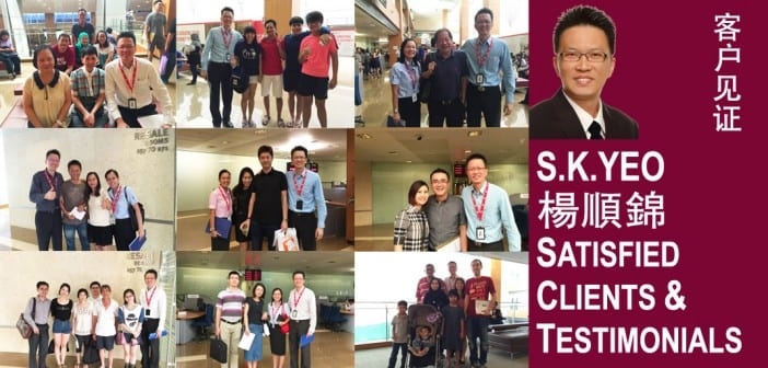 S.K.Yeo Satisfied Clients and Testimonials