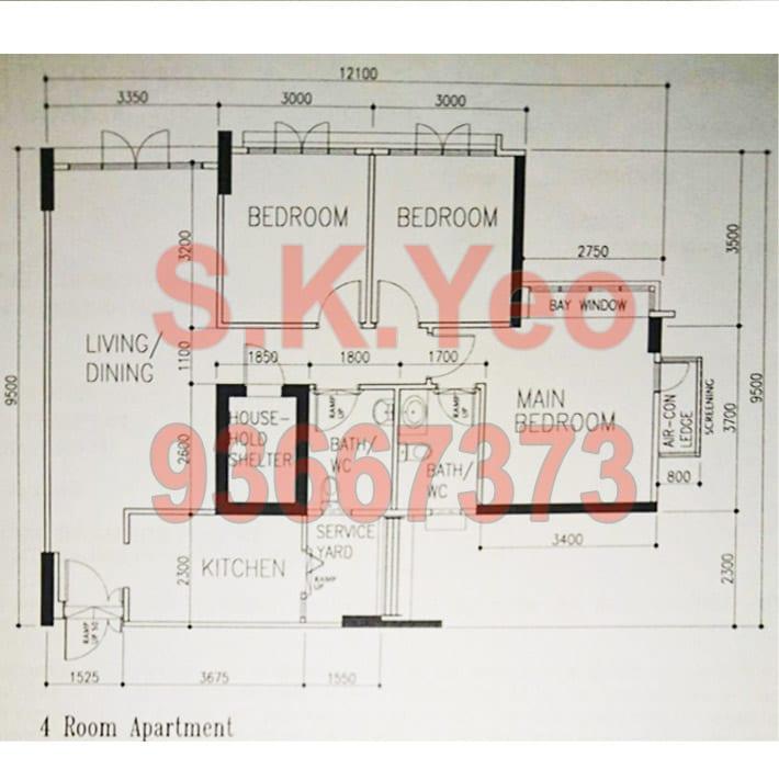 Blk-273C-Punggol-FloorPlan