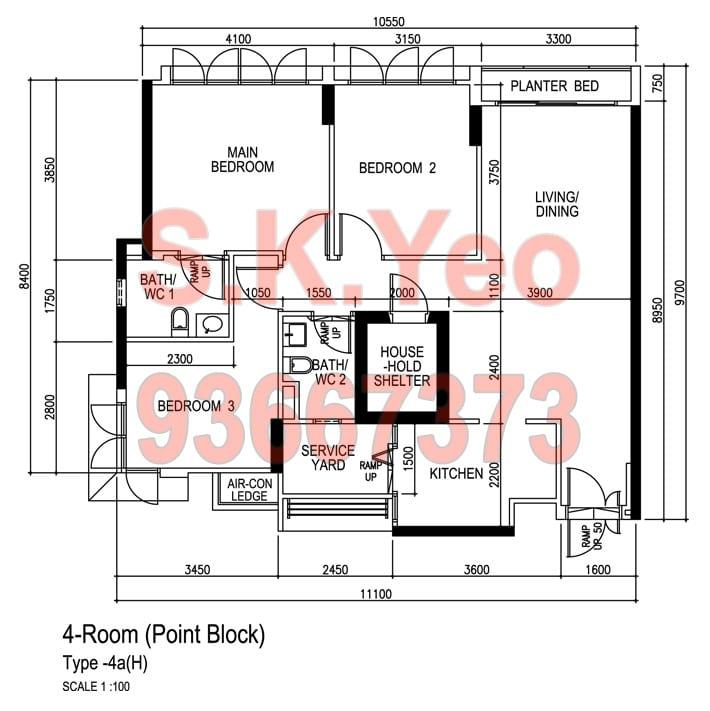 Punggol-Blk-289A-Punggol-Place-4A-Floorplan