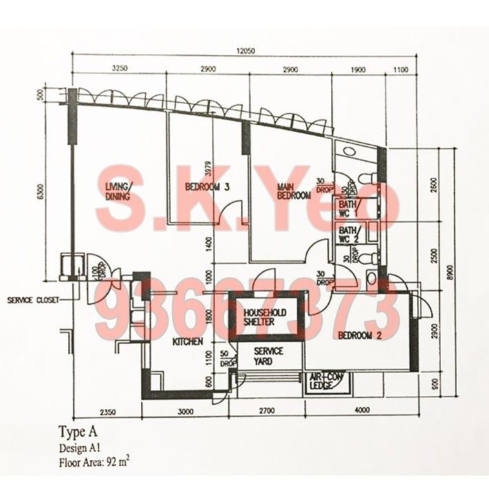 SengKang-265A-Compassvale-4A-FloorPlan