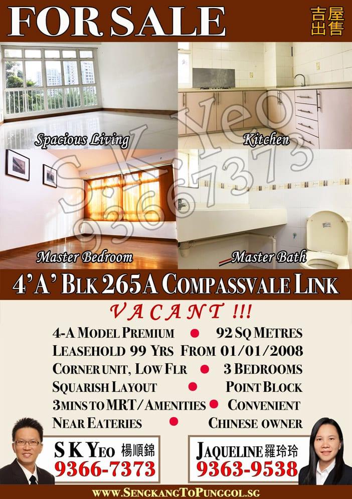 SengKang-265A-Compassvale-4A-Listing
