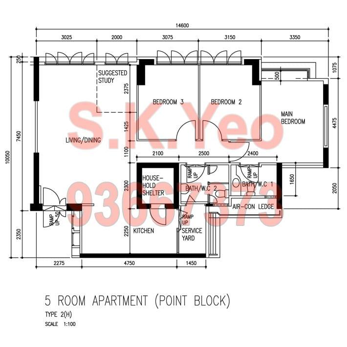 Sengkang-212B-Compassvale-Drive-5I-FloorPlan