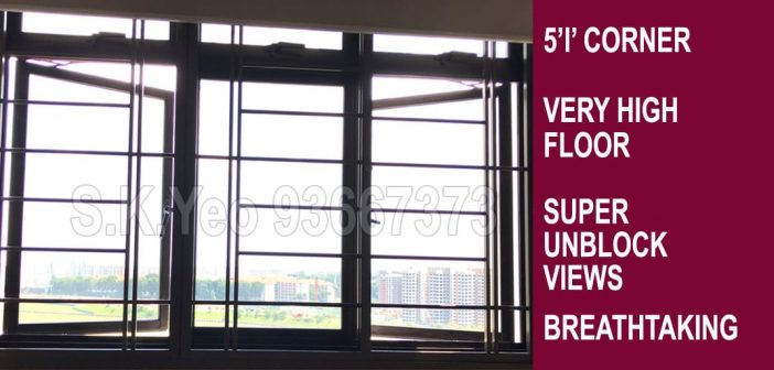 5'I' Sengkang HDB For Sale – Blk 310B Anchorvale Road by Property Agent S.K.Yeo ERA