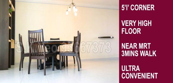5'I' Sengkang HDB For Sale – Blk 262D Compassvale Link by Property Agent S.K.Yeo ERA