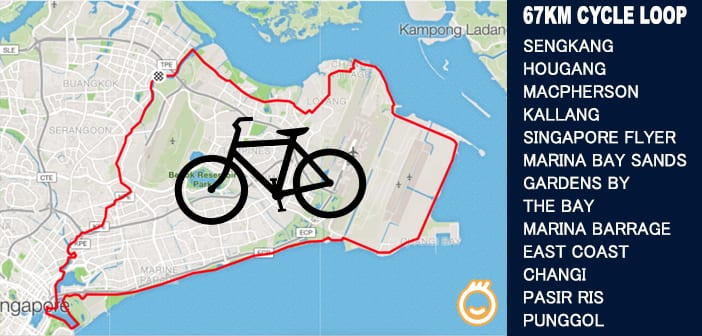 PCN Cycle from SengKang Punggol to Marina Bay Sands