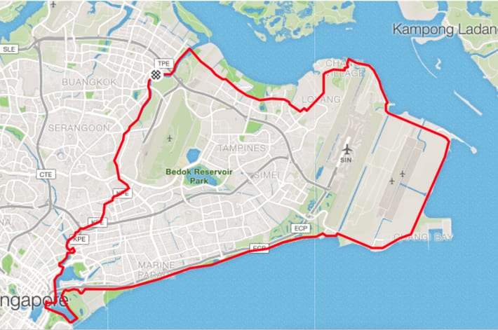 PCN Cycle from Sengkang Punggol to Marina Bay Sands to Gardens By ...