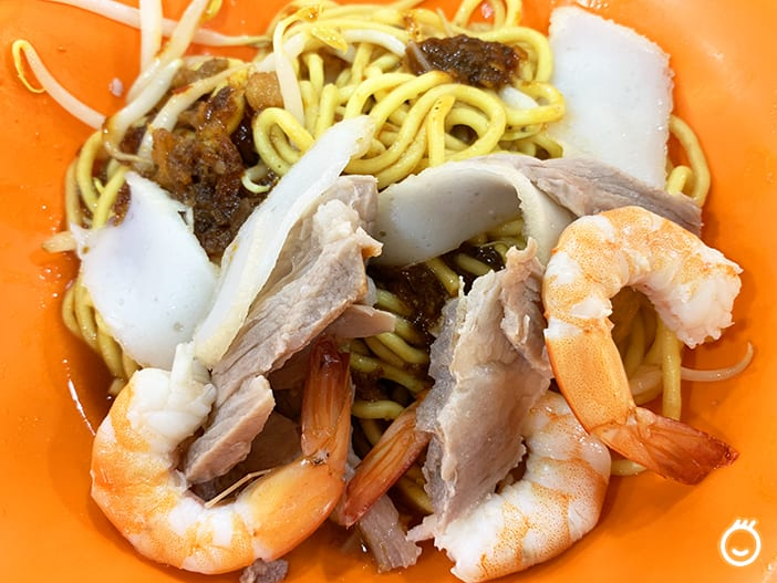HOUGANG FOOD: TRADITIONAL FAMOUS PRAWN MEE