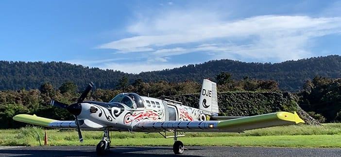 Skydive Fox Glacier New Zealand plane