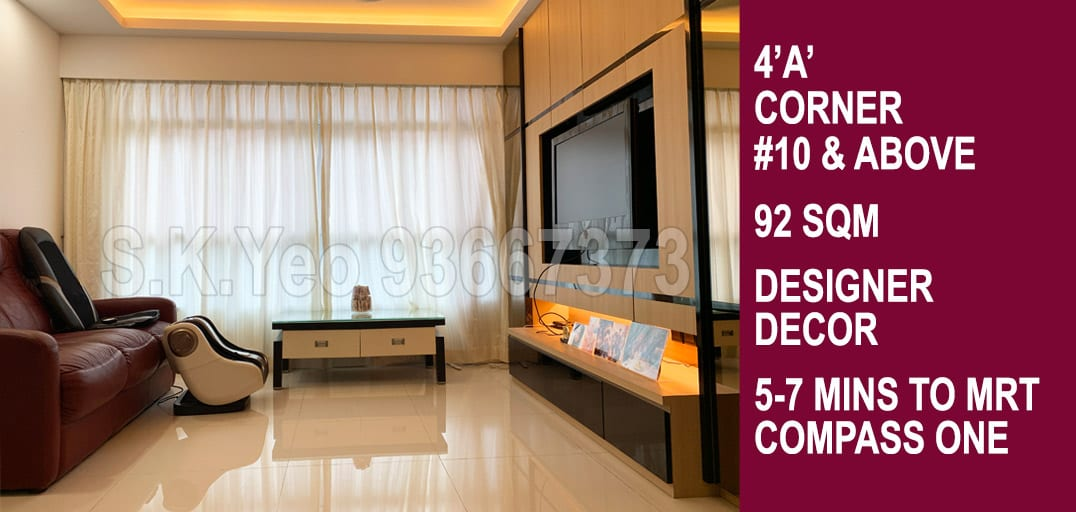 4 A Sengkang Hdb For Sale Blk 333c Anchorvale Link By Property Agent S K Yeo Era Sengkang To Punggol By Real Estate Property Agent S K Yeo Era Residential Hdb Condo Specialist