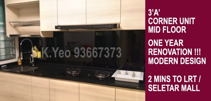 3'A' Sengkang HDB For Sale – Blk 445A Fernvale Road by Property Agent Agent S.K.Yeo ERA