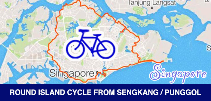 PCN Cycle Round Singapore Island Route from SengKang Punggol