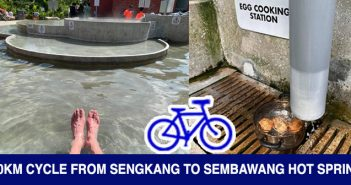 PCN Cycle from Sengkang To Sembawang Hot Spring Park