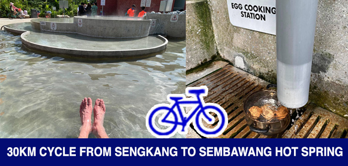 PCN Cycle from SengKang to Sembawang Hot Spring