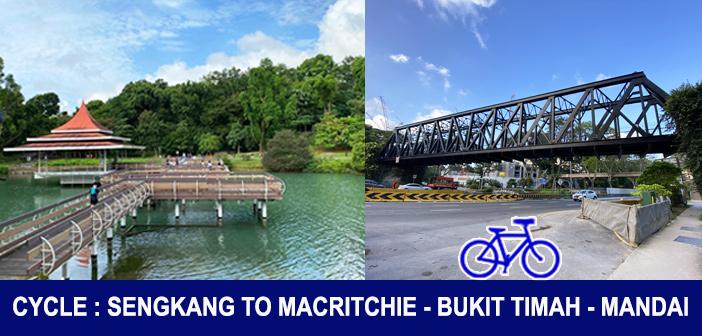 PCN Cycle from Sengkang Punggol to Macritchie to Bukit Timah to Hillview to Mandai