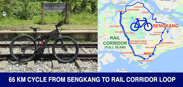 PCN Cycle from SengKang to Rail Corridor
