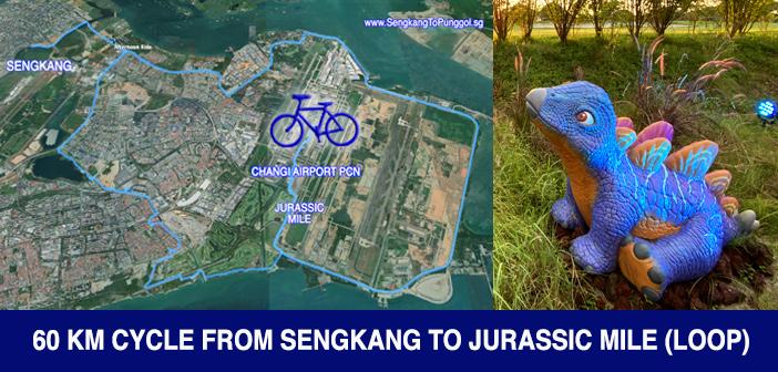 PCN Cycle from SengKang to Jurassic Mile Changi Airport