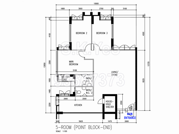 Floorplan-Sengkang-5i-305c-Anchorvale-by-Property-Agent-S.K.Yeo-ERA