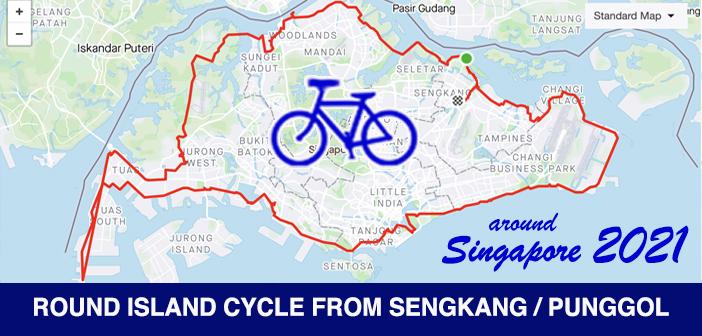 PCN Cycle Round Singapore Island Route from SengKang Punggol
